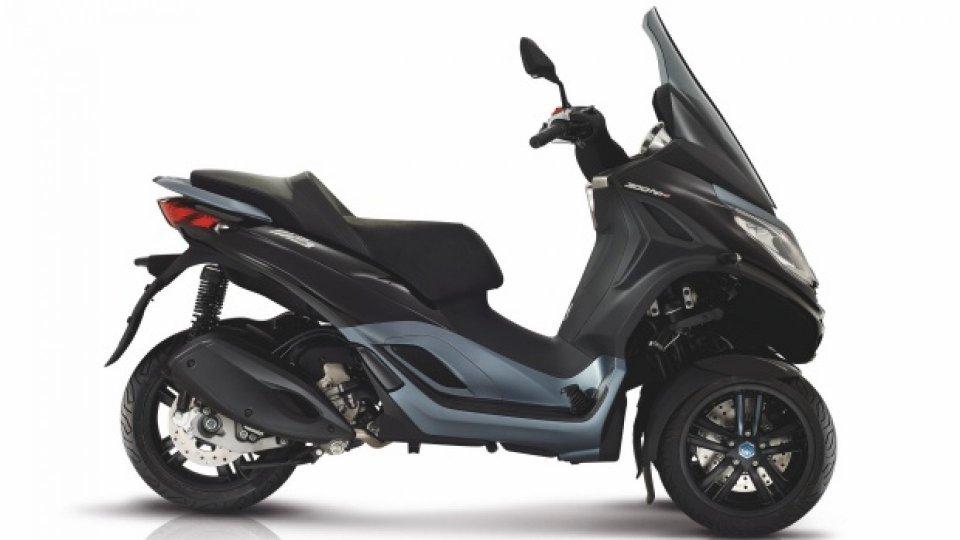 Moto - News: Piaggio MP3 500 hpe Business: il nuovo tre ruote si presenta ad EICMA 2018
