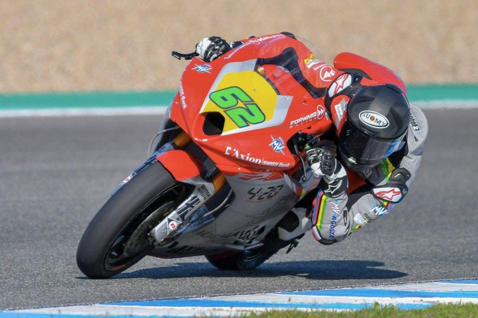 "Moto2: Manzi: ""La MV Agusta mi ha regalato il sorriso"""