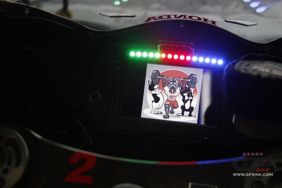 MotoGP: Nakagami: display da videogioco per la Honda del giapponese