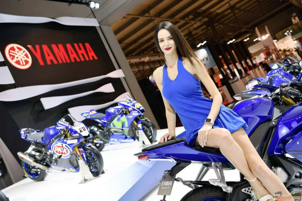 Moto - News: Yamaha ad EICMA: piloti e anteprime? La diretta su Sky Sport MotoGP