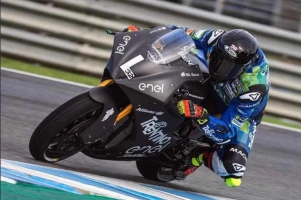 MotoE: Savadori: difficult to make the difference with the electric bike