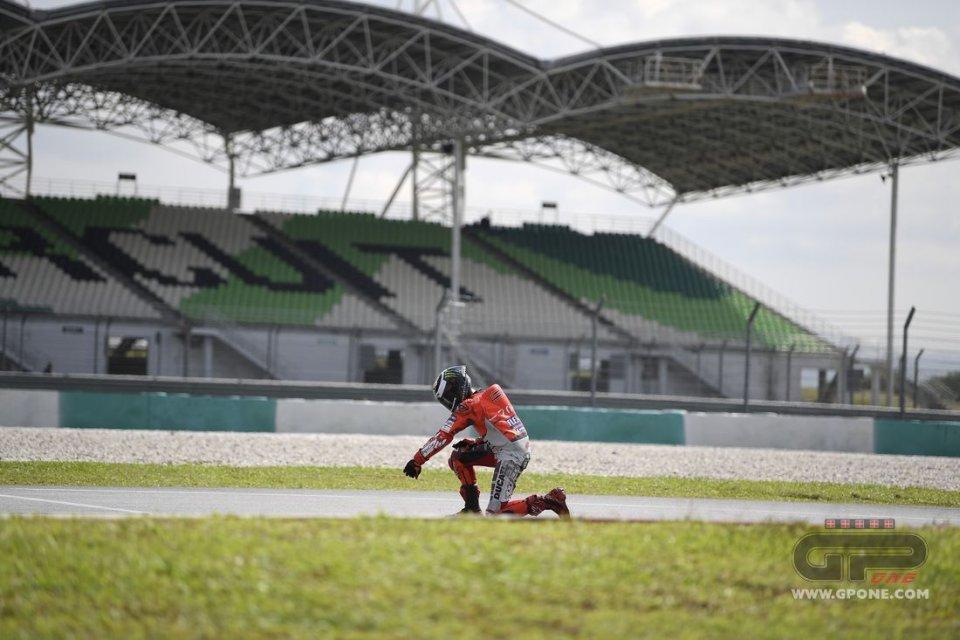 [Test] Sepang 2018 Lorenzo-crash2