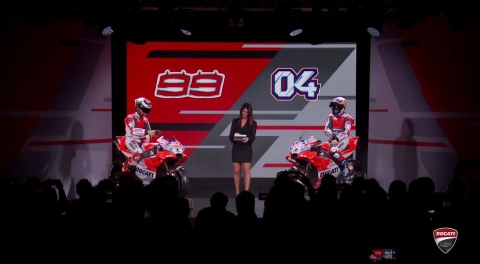 Ducati, introducing the GP18: new bike, old problems