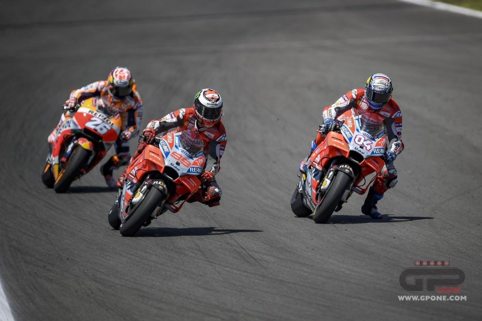 Dovizioso & Lorenzo, a great future behind them