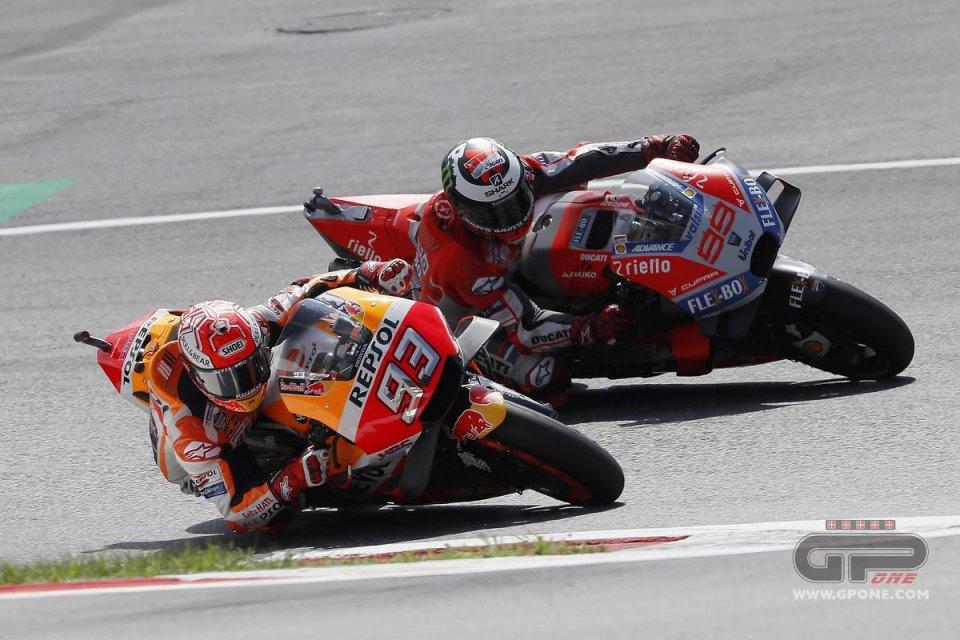 Lorenzo vs Marquez al Red Bull Ring: prove di futuro