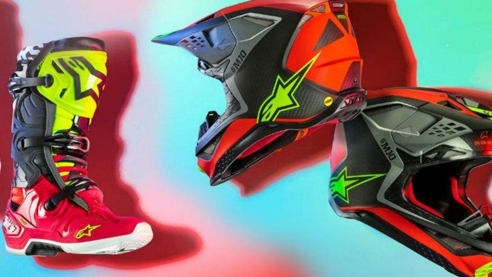 Moto - News: Alpinestars Anaheim 19, la limited edition che celebra il Supercross