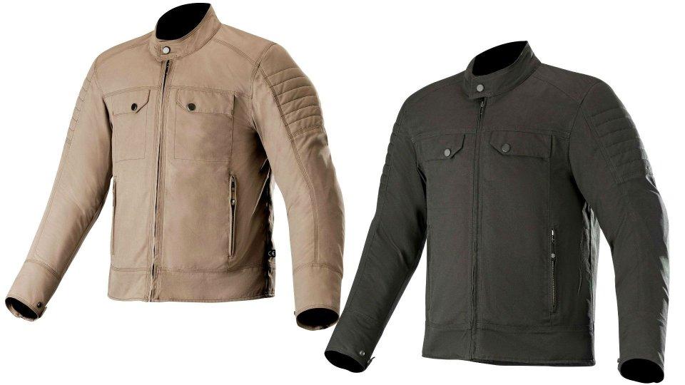 Moto - News: Alpinestars Ray Canvas v2, la giacca urban per l'estate