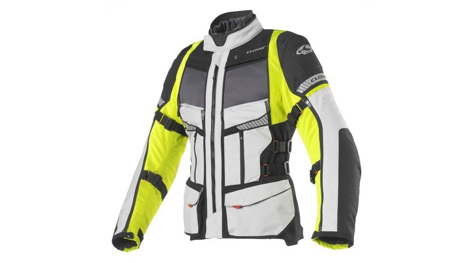 Moto - News: Clover GTS-4, la quarta generazione della giacca touring
