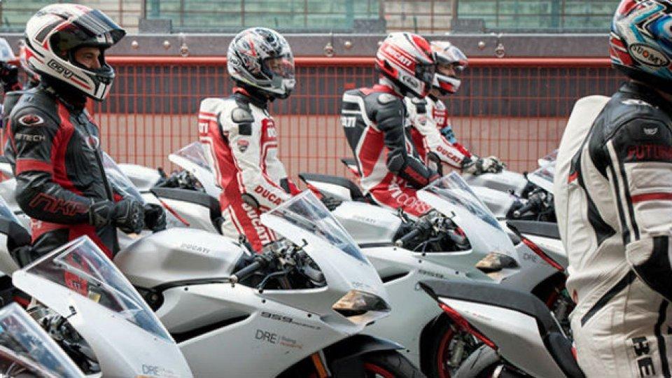 Moto - News: Ducati, aperte le iscrizioni ai corsi DRE 2019