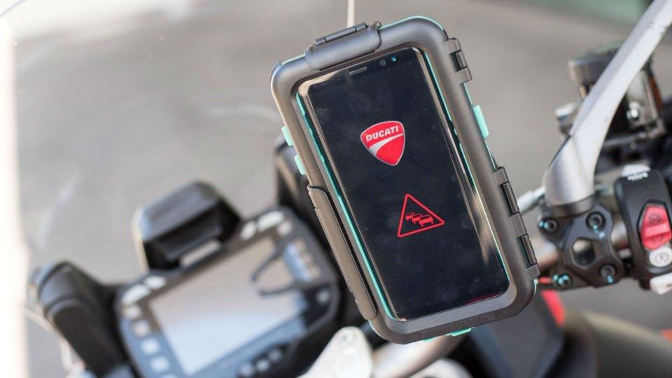 Moto - News: Ducati: con Ford e Audi per la comunicazione tra veicoli