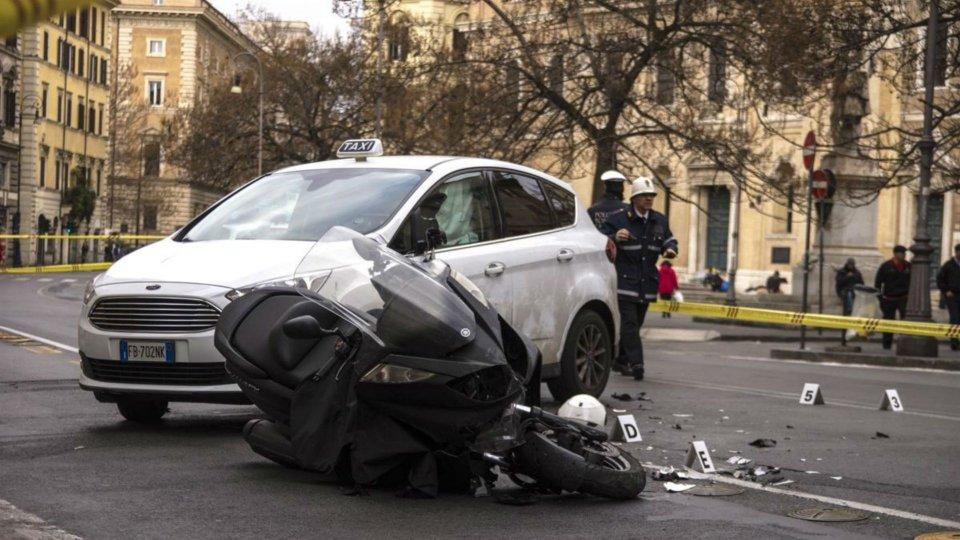 Moto - News: Incidenti in moto a Roma: numeri drammatici