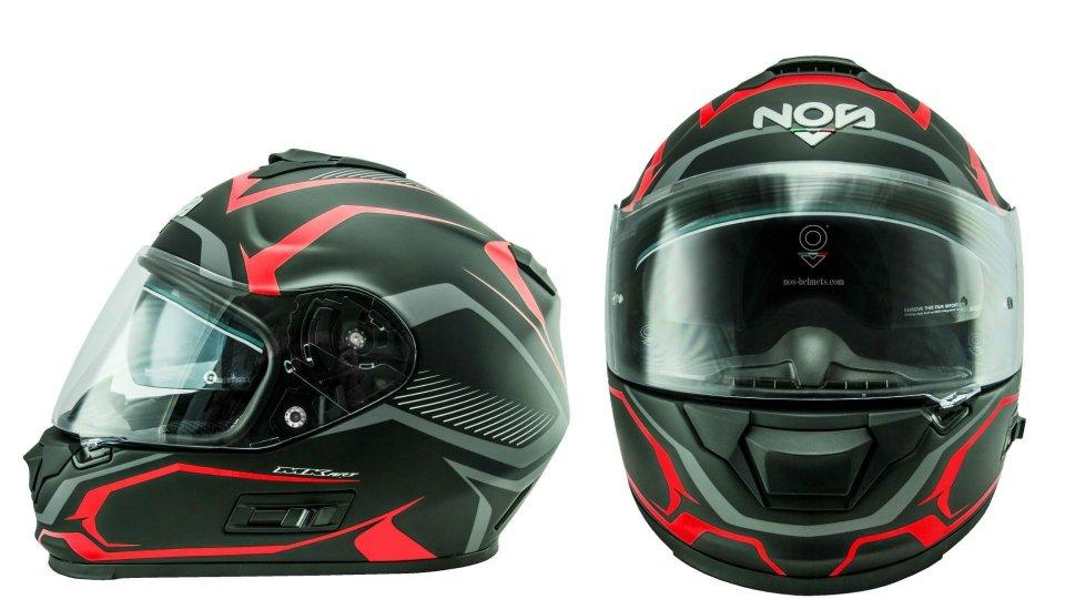 Moto - News: NOS NS-7F, il casco racing per tutte le tasche