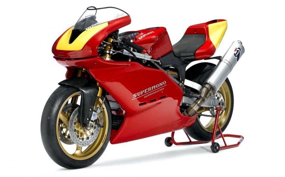 Moto - News: Una Ducati Supermono all'asta: base da 85.000 Euro