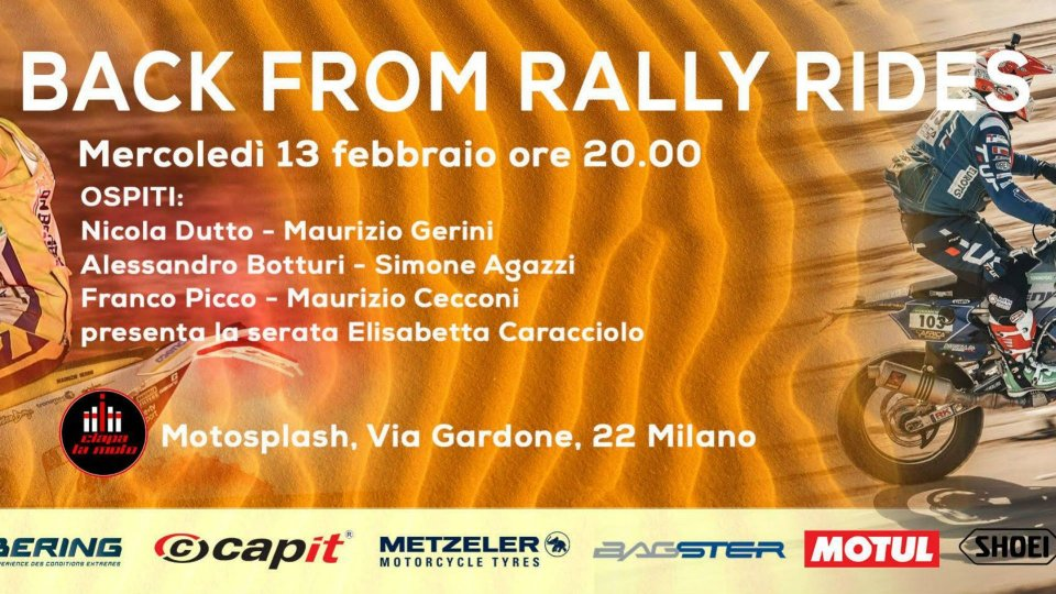 Moto - News: Back from Rally Rides, i protagonisti si raccontano a Ciapa La Moto