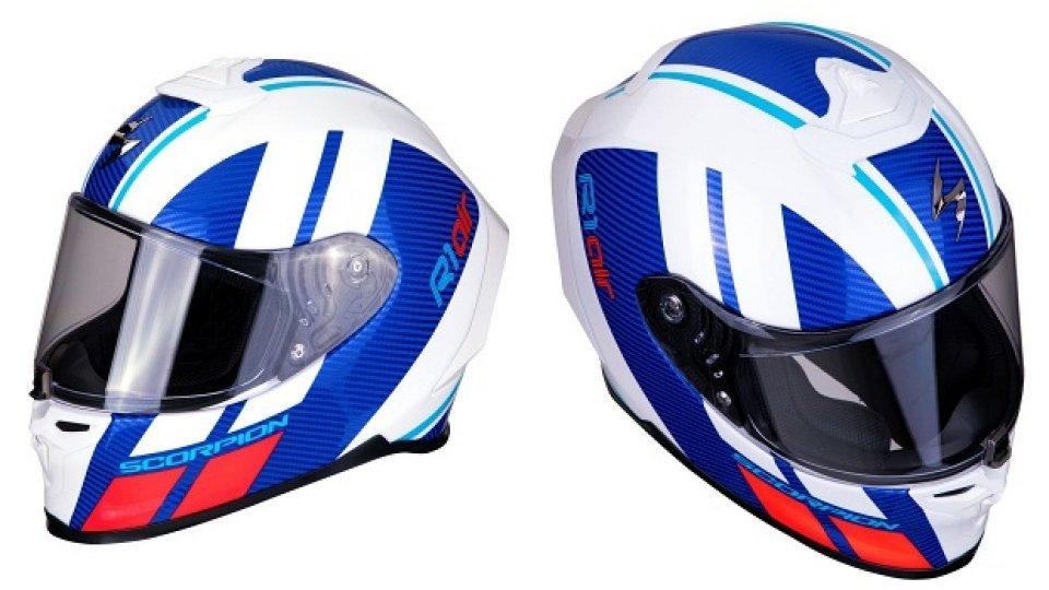 Moto - News: Nuovo Scorpion Exo R1 Air: il casco racing dedicato a chi ama la velocità
