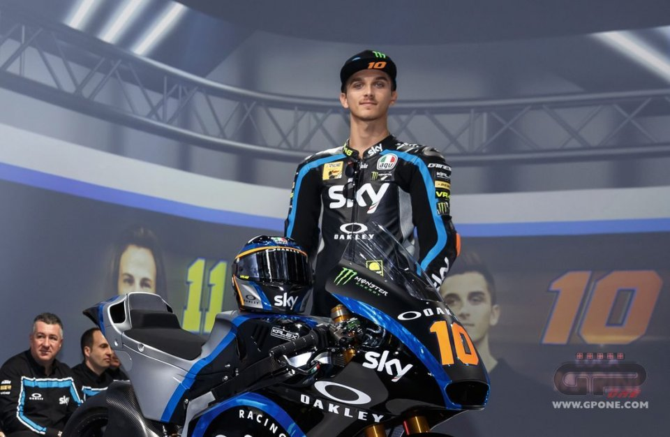 """Moto2: Marini: """"In MotoGP with Vale? I'll tell him to race until he's 46"""""""