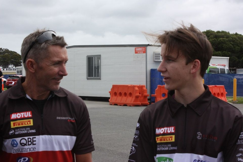 """SBK: Bayliss: """"with the Panigale V4 it's like going back to 2004"""""""