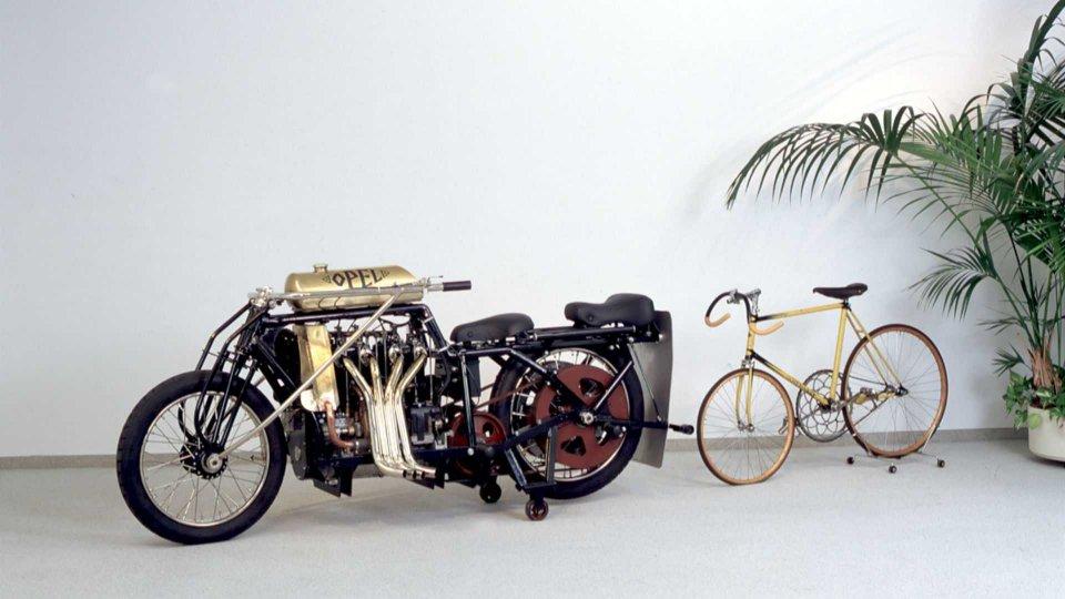 Moto - News: C'era una volta... La moto Opel