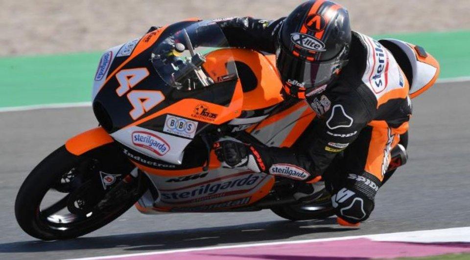Moto3: WUP: Canet ancora al Max a Losail