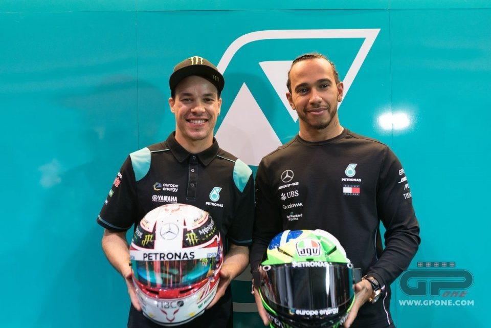 """MotoGP: Morbidelli: """"Hamilton surprised me with really cool questions"""""""