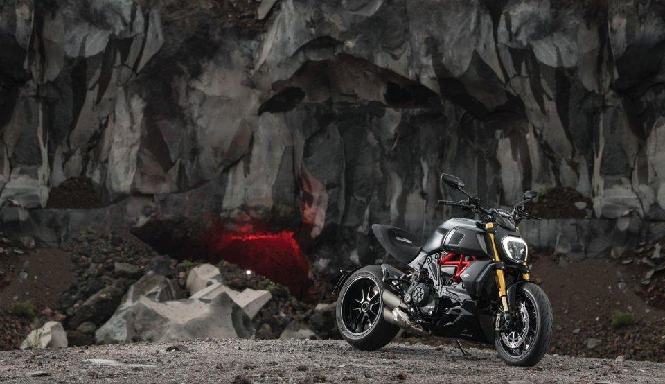 Moto - News: Ducati Diavel 1260: in prova il 23 ed il 24 marzo