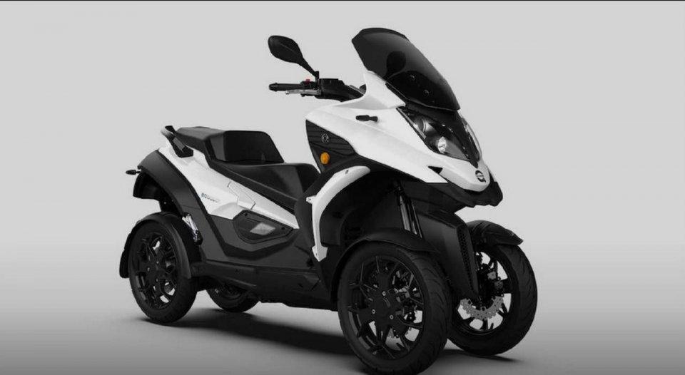 Moto - News: Quadro eQooder: il quattro ruote, diventa elettrico