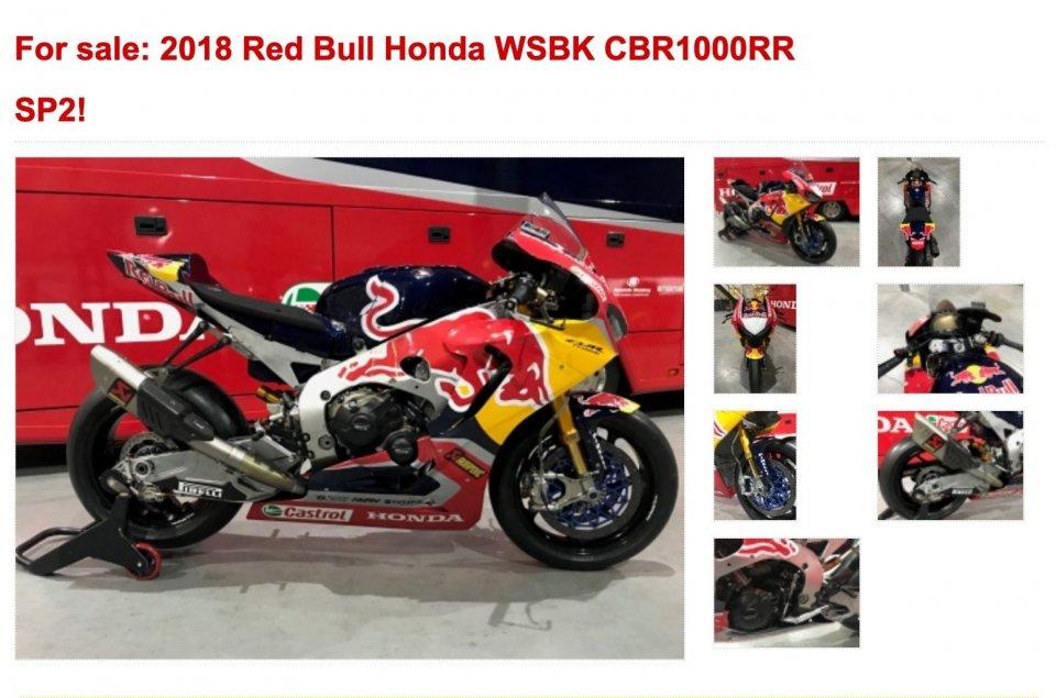 SBK: Ten Kate Racing vende la RedBull Honda di Nicky Hayden