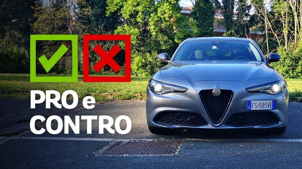 Moto - News: Alfa Romeo Giulia 2.2 AT8 B-Tech, pro e contro