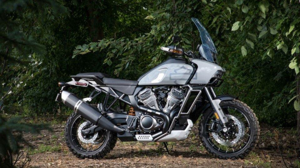 Moto - News: Harley-Davidson: le prime immagini del nuovo motore