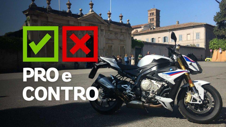 Moto - Test: BMW S 1000 R, pro e contro