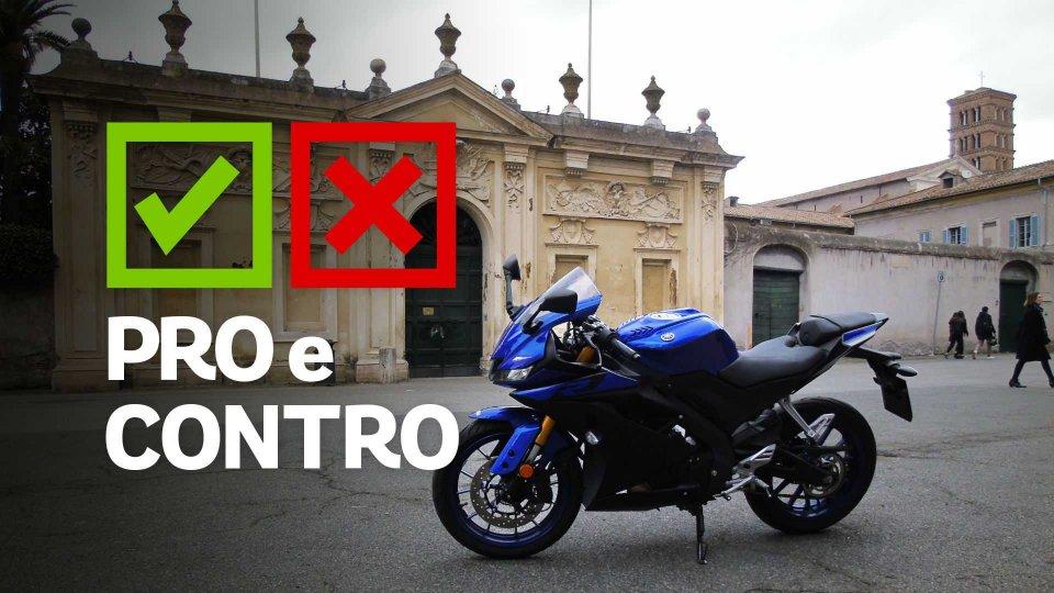 Moto - Test: Yamaha YZF-R125, pro e contro