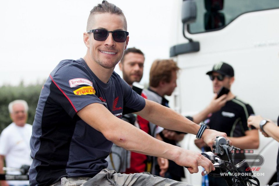 """MotoGP: Rossi: """"Hayden sembrava arrivare da un altro pianeta"""""""