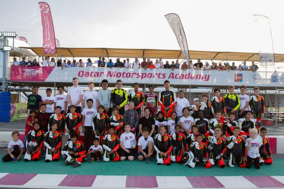 MotoGP: Vinales maestro per i piloti del futuro in Qatar