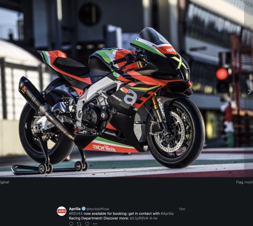 Moto - News: Aprilia RSV4 X now avalaible in 10 units