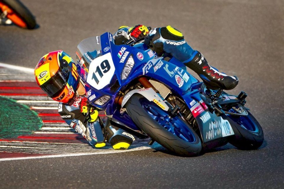 SBK: SS300: Doppia wild card a Imola per il Team AG Yamaha