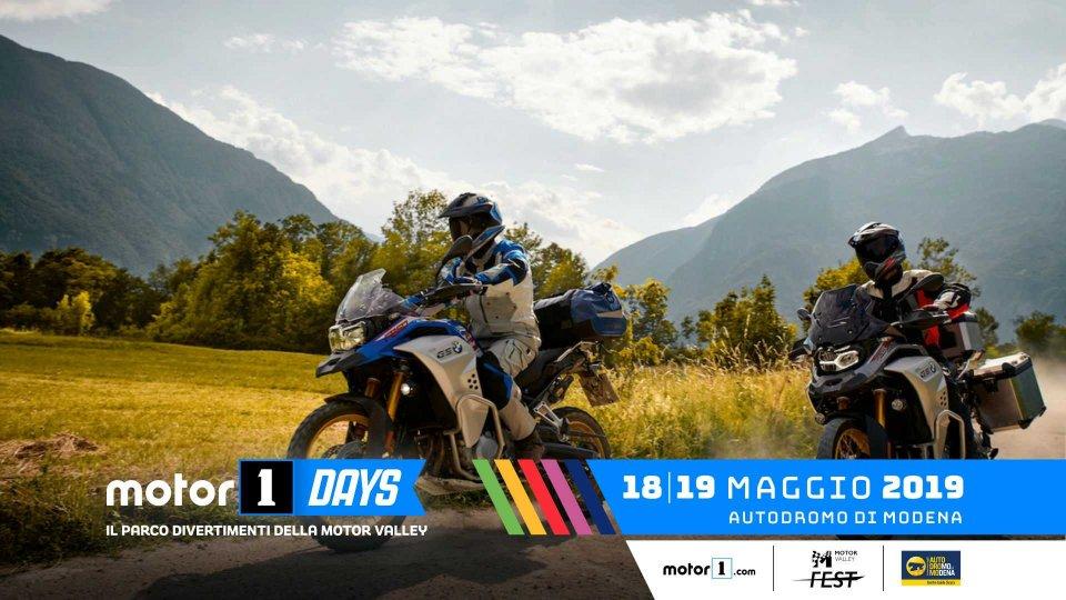 Moto - News: BMW Motorrad, le GS al Motor1Days