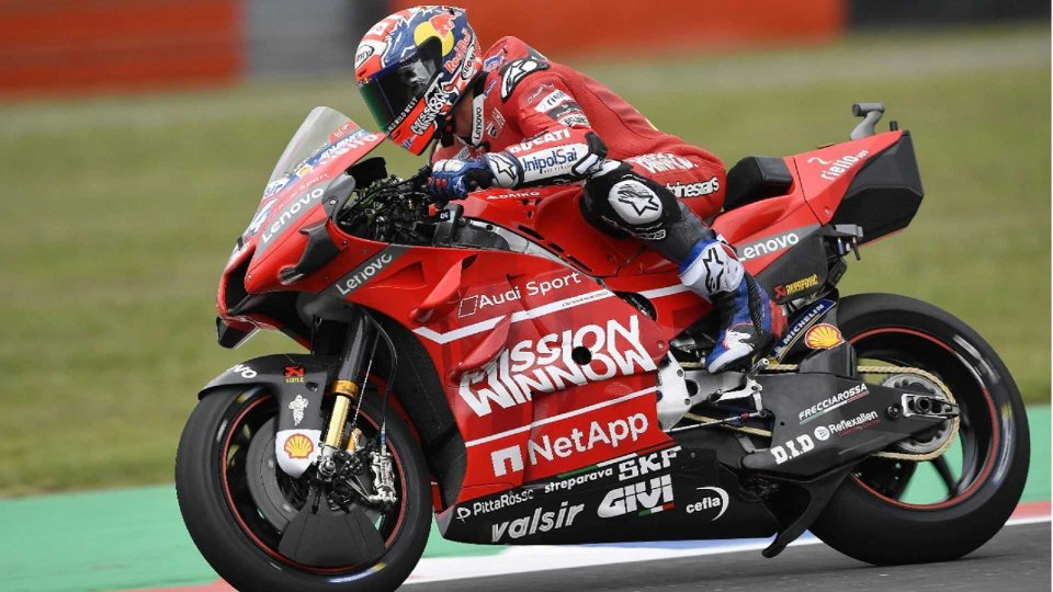 Moto - News: Come frena un campione della MotoGP?