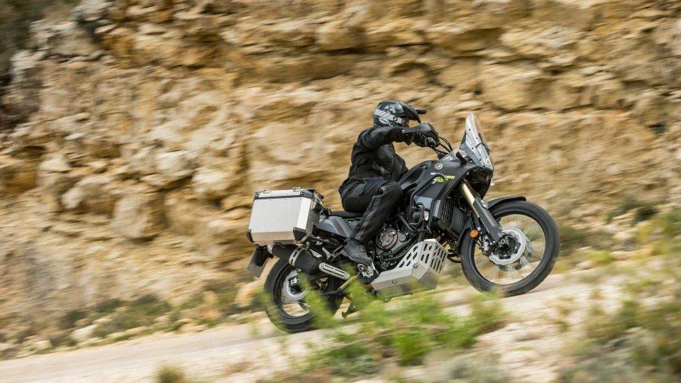Moto - News: Yamaha Ténéré 700, arrivano le linee di accessori originali
