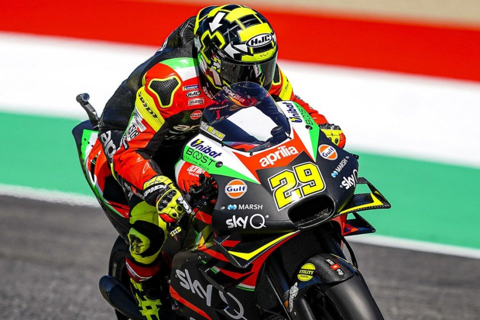 MotoGP: Aprilia risponde a Ducati: una nuova carena al Mugello