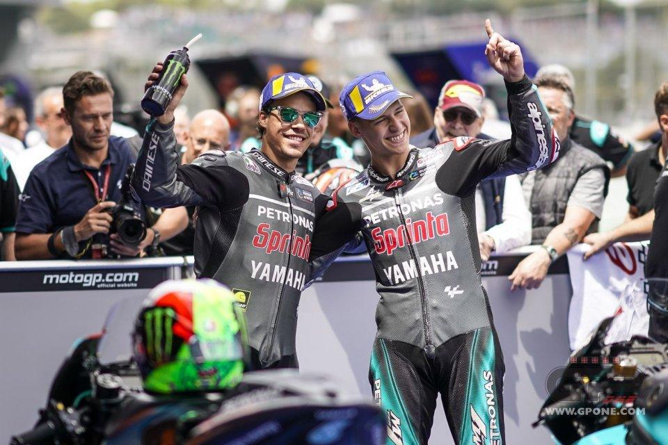 MotoGP: Il mistero Yamaha: Rossi e Vinales si lamentano, il team satellite vola