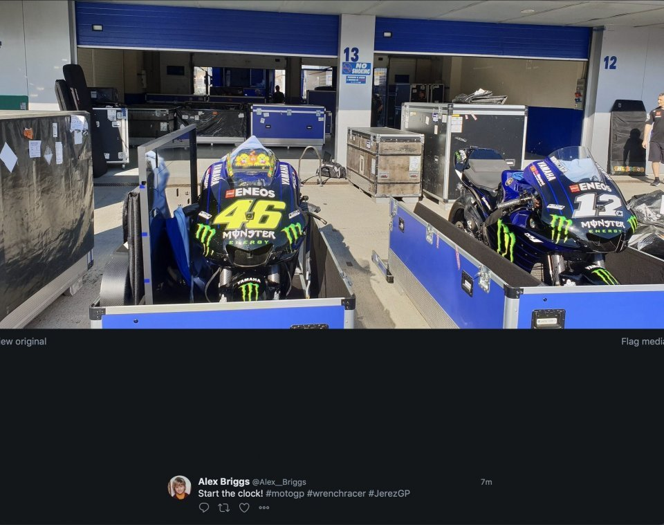 MotoGP: Rossi da record a Jerez: 20 GP e 7 vittorie in Andalusia