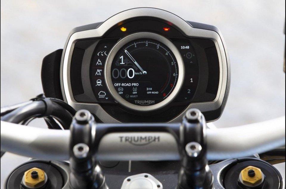 Moto - News: Triumph TE-1: il progetto green che guarda al futuro