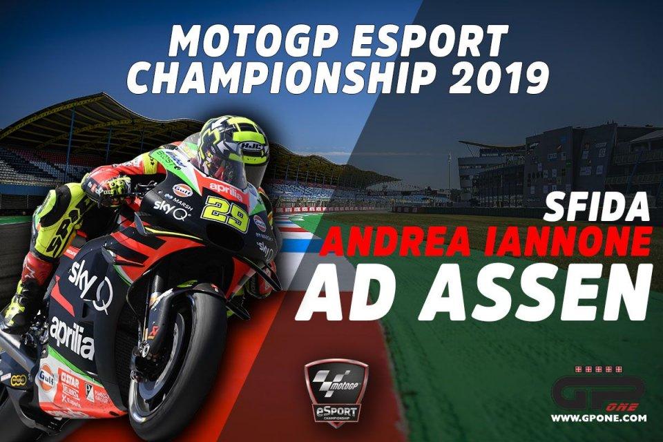 Playtime - Games: Batti Andrea Iannone ad Assen nella seconda sfida Online MotoGP 2019