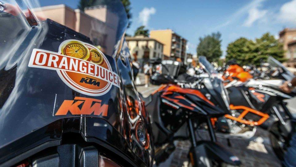 "Moto - News: KTM, tornano i weekend ""Orange Juice"""