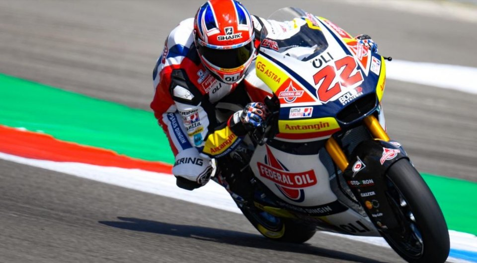 Moto2: FP1: Sam Lowes ad Assen beffa Baldassarri di 6 millesimi