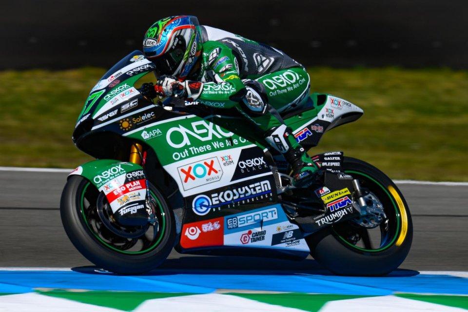 Moto2: Gardner conquista la sua prima pole, 6° Di Giannantonio