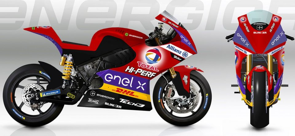 MotoE: Tech3: these are the colours of the French MotoE