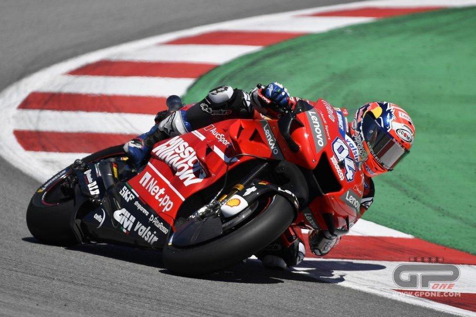"""MotoGP: Dovizioso: """"Marquez ora può permettersi di sbagliare"""""""