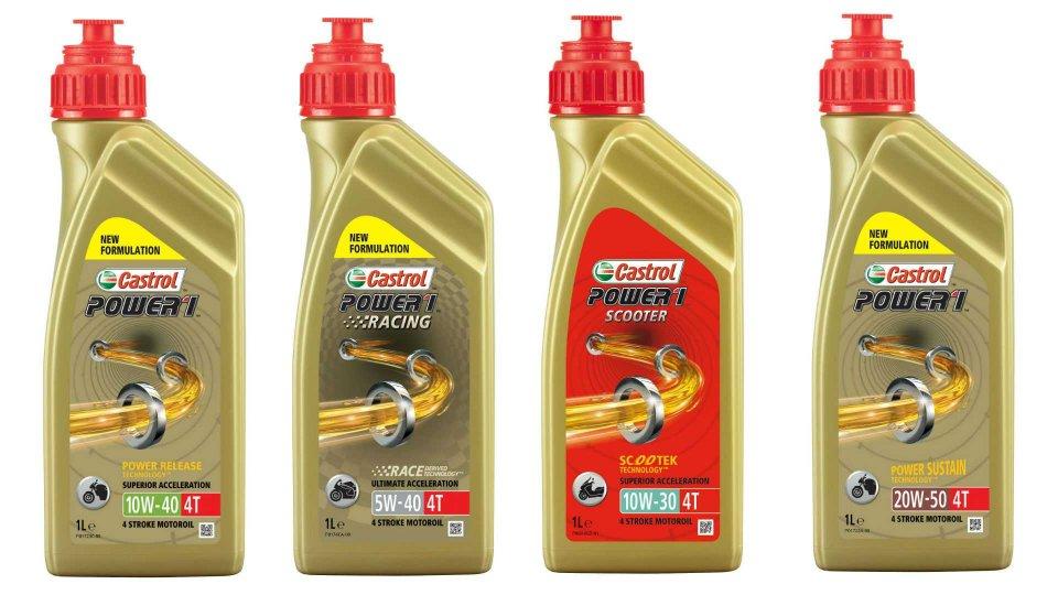 Moto - News: Castrol Power1, la nuova linea di lubrificanti
