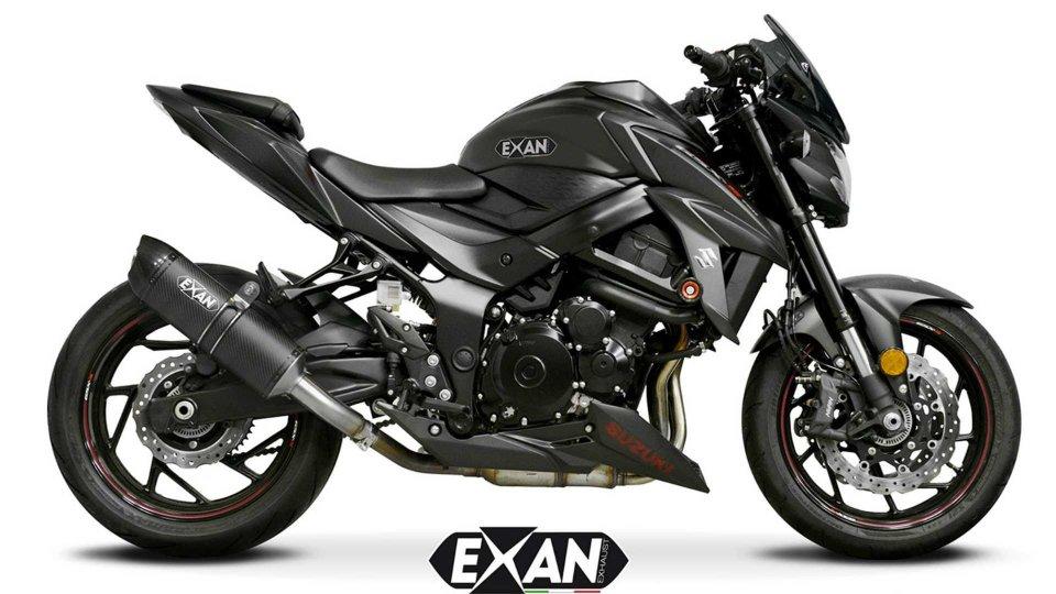 Moto - News: Exan, una linea di scarichi dedicati alla Suzuki GSX-S750